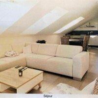 Superbe appartement 4.5p / 3 CHB / 1 SDB / 1 balcon