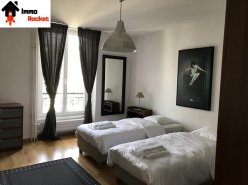 Superbe 4,5 pièces meublé / 3 chambres / Balcon / 1SDB