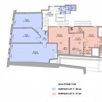 Bureaux de prestige ou cabinet médical  - Place de la Riponne