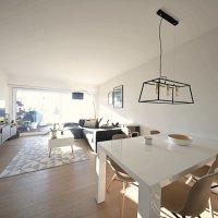 Splendide appartement avec jardin/terrasse de 100m2/ Vue lac