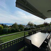 Magnifique appartement meublé de 4,5 pièces - Terrasse - Vue lac
