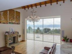 Rare: maison de maître avec vue Lac, Alpes et Mont-Blanc.