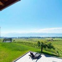 Splendide 4.5 p meublé / 3 chambres / Balcon et vue lac