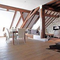 Magnifique loft / 1 chambre ouverte + mezzanine / Vue