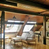 Magnifique loft semi-meublé 3,5 p / 1 chambre / Mezzanine / SDB