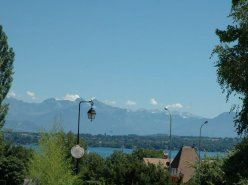 Mies : Appartement 1 rez-jardin, belle vue sur le lac