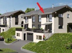 Belle villa jumelle neuve, plein sud, avec garage et place de parc