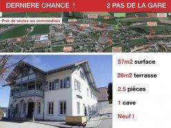 2 PAS DE LA GARE - NEUF - TERRASSE PLEIN SOLEIL