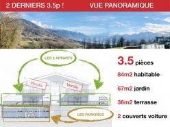 PRET JUIN 2020 - 2 DERNIERS 3.5p - VUE PANORAMIQUE - CALME