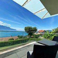 Magnifique villa -Vue imprenable sur le lac - Jardin - Terrasse