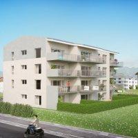 FOTI IMMO - Appartement de 4,5 pièces avec balcon.