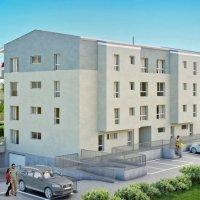 Appartement de 4,5 pièces avec balcon.