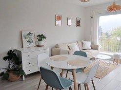 Magnifique appart meublé 2,5 p / 1 chambre / 1 SDB / balcon avec vue