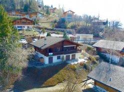 Chalet mitoyen idéalement situé à Icogne (Les Vernasses) à 12min de Crans-Montana