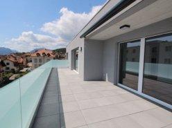Attique de 4.5 pièces avec belle terrasse côté sud