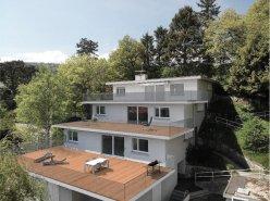 Appartements avec grande terrasses avec vue sur le lac de Neuchâtel