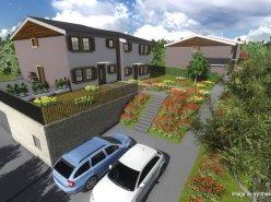 4 villas mitoyennes de 5 pièces avec belles luminosités dans la verdure avec terrasses