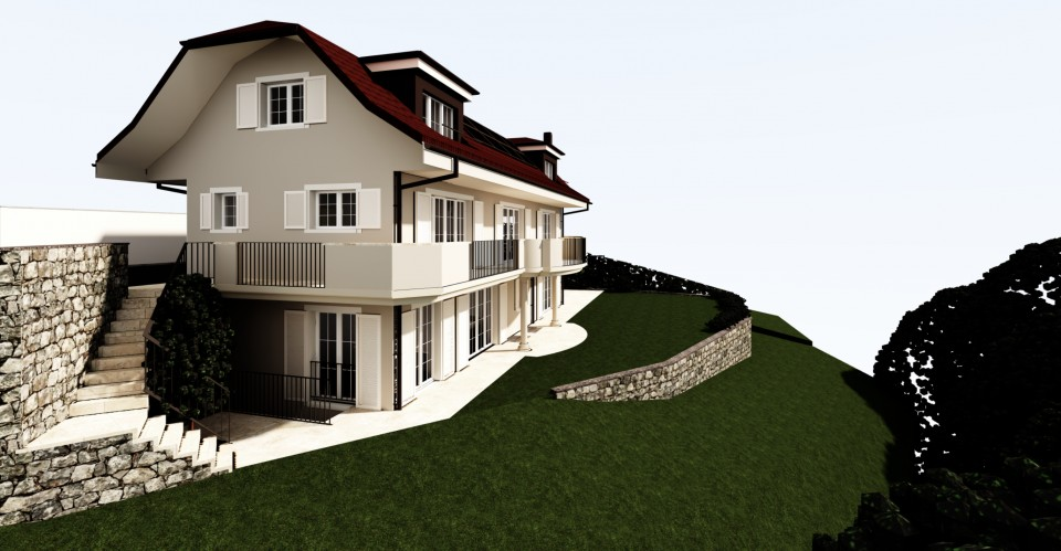 Magnifique villa 7,5 p / 5 chambres / 4 SDB / terrasse avec jardin