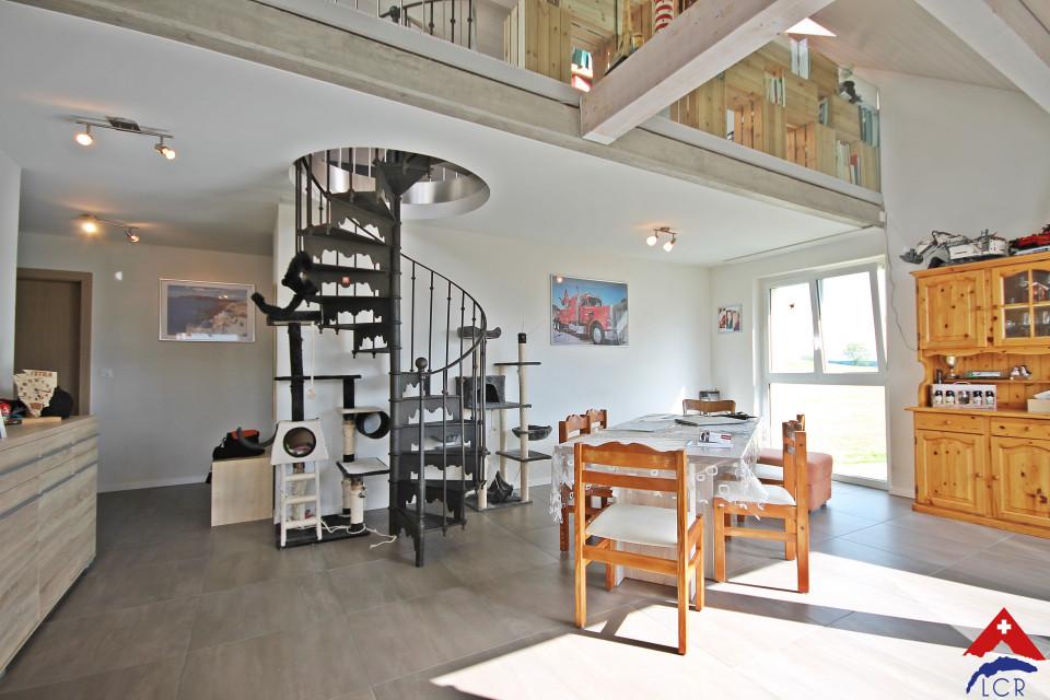 Magnifique duplex de 5.5 pièces / mezzanine / balcon
