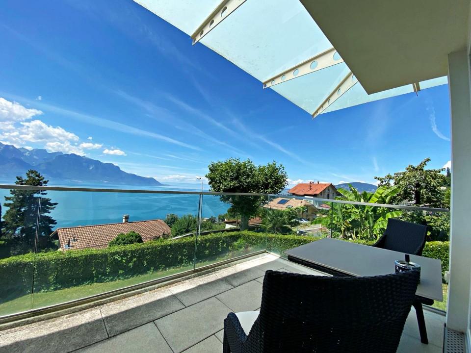 Magnifique villa meublée-Vue imprenable sur le lac - Jardin - Terrasse