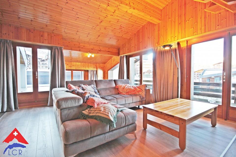 Magnifique duplex en attique 5p // Terrasse - Centre station