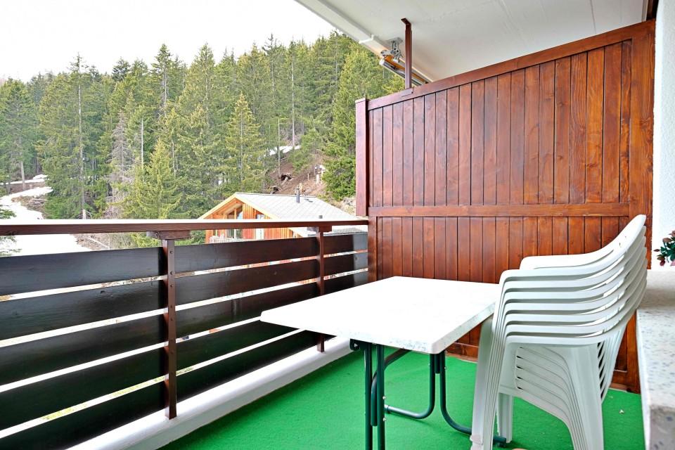 Beau 3,5 pièces meublé - Balcon avec belle vue - Parking