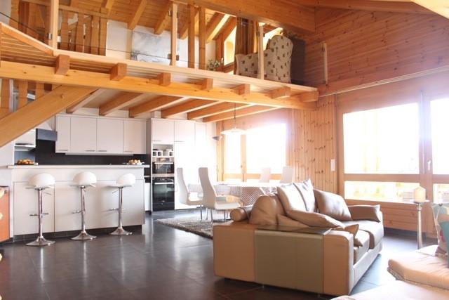 VISITE 3D DISPO // Splendide attique avec très belle vue sur les Alpes